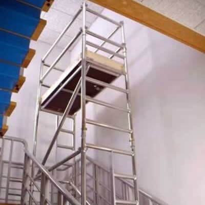Staircase scaffold tower hire national tool hire shops for Stair tower